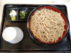 群馬1日目①:「白虎」でお蕎麦を楽しもう!会津産と信州産が選べます!あなたはどっち?